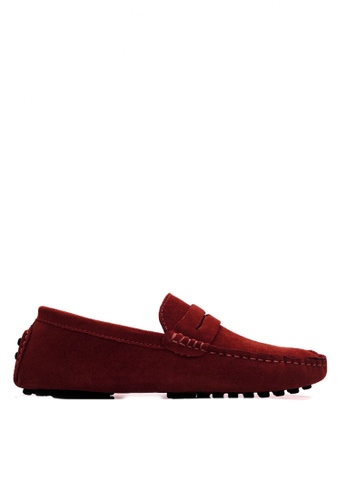Twenty Eight Shoes 真牛猄皮休閒帆船鞋MC024 0D517SH067454FGS_1