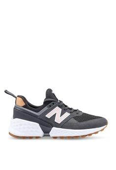 232585953903a New Balance grey 574 Lifestyle Shoes 28840SHFA43048GS_1