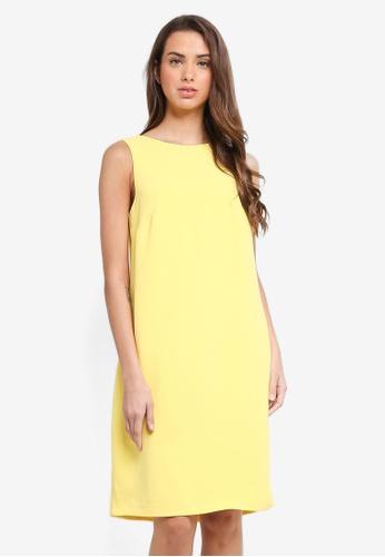ESPRIT yellow Light Woven Long Dress 105C5AA0EE55B3GS_1