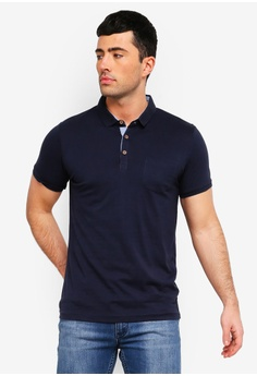 e83cf36460d41c Brave Soul navy Julius Polo Shirt 85924AAC503870GS 1