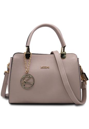 RUCINI grey Rucini Meline Handbag D0AE6AC73D2D51GS_1