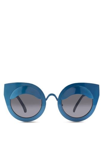 JPesprit 折扣0416 貓眼造型太陽眼鏡, 飾品配件, 飾品配件