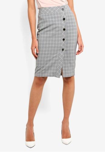 FORCAST black Leslie Pencil Skirt BDE66AA6A16BEAGS_1