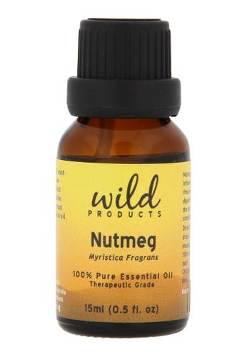 Wild Products Nutmeg (Myristica Fragrans) - 15 ml 8EEADBEF30938FGS_1