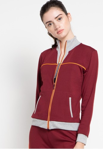 Lee Vierra red Jacket LE768AA41UKCID_1
