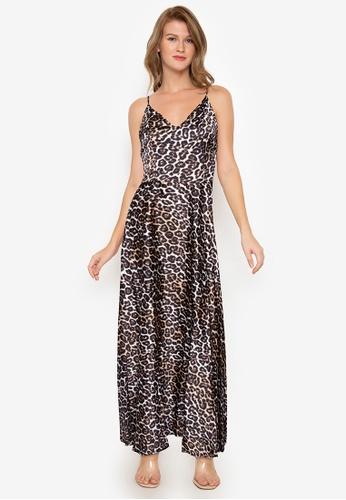 Purple Shore multi Ptinted Long Dress 68A5BAA6B37A0BGS_1
