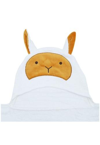 Cheekaaboo white Baby Unisex Bamboo Hooded Sheep Towel 39C18KCE12FF31GS_1
