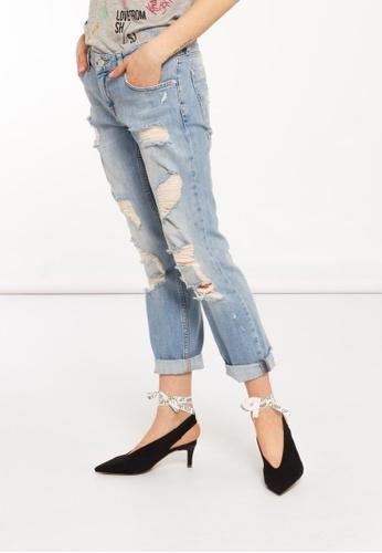 Low Waist Boyfriend Fit Jeans