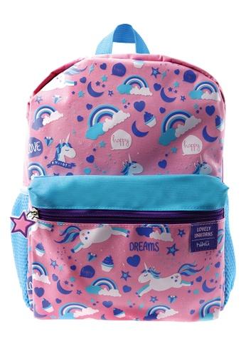 Hiku pink Hiku Unicorn Kids Backpack (12-inch) 32C67KCA89A86BGS_1