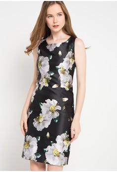 Etoile D Elfas black Katlyn-Round Neck Sleeveless Sheath Dress  ET604AA33TPEID 1 c9e92ffbbc
