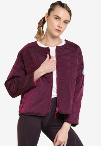 ADIDAS purple z.n.e. padded jacket 674E5AA11B5480GS_1