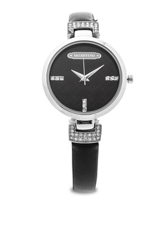 Leather Analog Watch 20121847