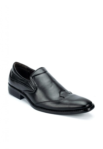 Cardam's Lifestyle black Stevie Dress Shoes 663A1SH9A3F1BAGS_1