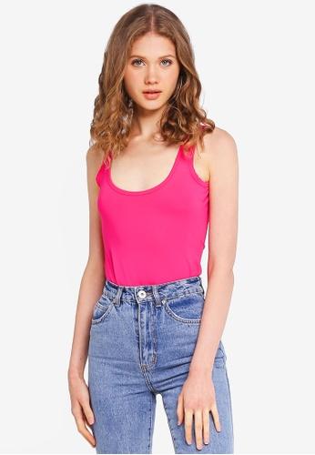 Factorie pink High Cut Bodysuit 0D863AA7351B34GS_1