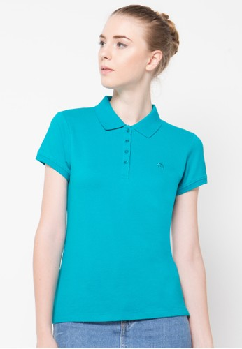 "Bossini blue S/Slv Soild ""Icon"" Polo(Bl 23) BO894AA96UDJID_1"