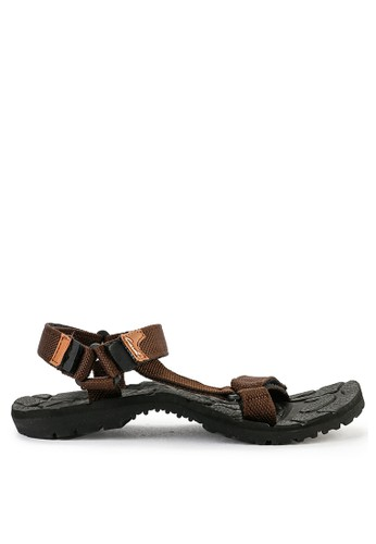 CARVIL multi and brown Carvil Sandal Sponge Gunung Man Santiago Black Dark Brown 379EASHAEA6CCDGS_1