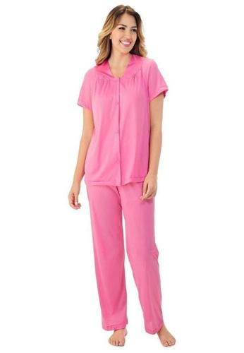 Exquisite Form Short Sleeve Pyjama Set Plus BE9B8AA3F7E844GS_1