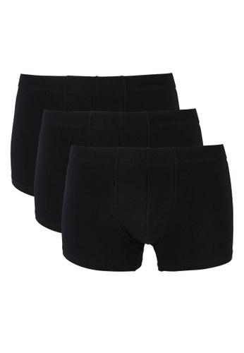 OVS black Plain Boxers 9442EUSEED34B5GS_1