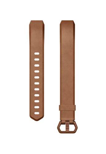 Fitbit brown Fitbit Alta/Alta HR Original Classic Accessories Leather Band (Brown) 4D1CFAC2253B35GS_1
