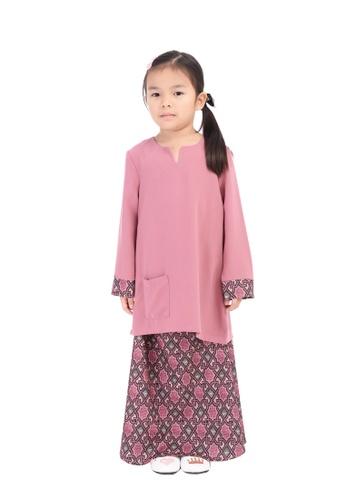 D'YANA pink BAJU KURUNG D'YANA - ESME (KIDS) 1D592KA8677B3EGS_1
