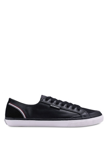 Superdry black Low Pro Retro Sneakers E4060SH0780F07GS_1
