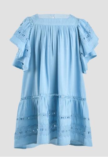 Tili Dahli blue Gale Dress (Baby) 6038FKA0CF3B8DGS_1