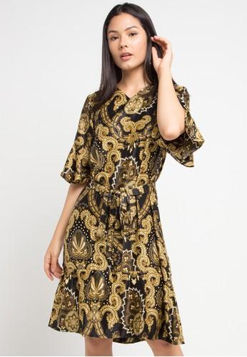 Anakara multi Flaria Dress Makumasa 5470CAAF0B309EGS_1