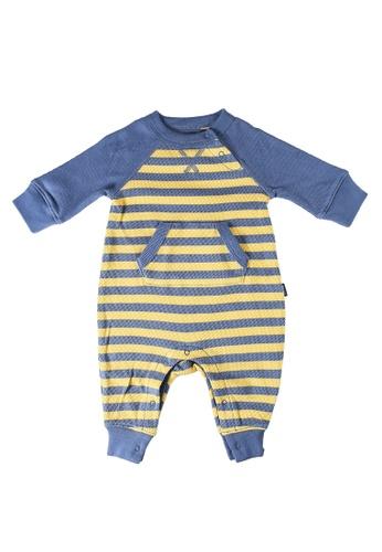 GAP gold Stripe Henley Bodysuit ECD8AKA699DEC9GS_1