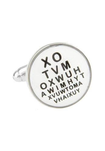 The Little Link Cufflinks black Eye Doctor cufflinks TH089AC0G4X6SG_1