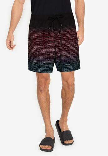 Hollister multi Pattern Guard Shorts 7B8EEUS0D77C5FGS_1