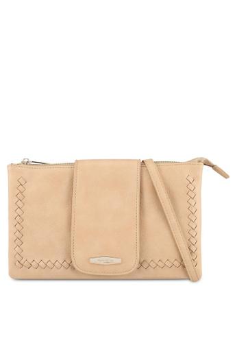 Perllini&Mel beige Faux Leather Sling Bag E5CE7ACF8FBDDDGS_1