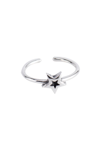 A-Excellence silver Premium S925 Sliver Geometric Ring C7CB3ACDB310A8GS_1