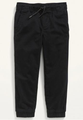 Old Navy black Toddler Boys Functional-Drawstring Slim Jogger Pants 0195FKA61B8C39GS_1