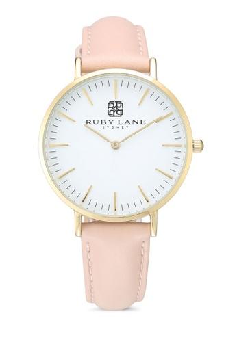 Ruby Lane 白色 質感時尚36mm手錶 7B940ACD9076FAGS_1