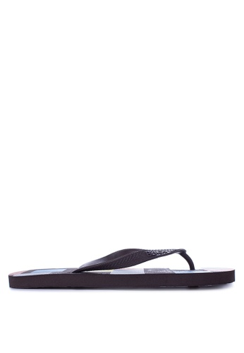 BENCH brown Printed Slippers BE550SH21LPEPH_1