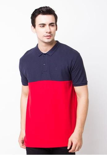 Endorse Polo Shirt E & 2Colour Navy Red END-OG094