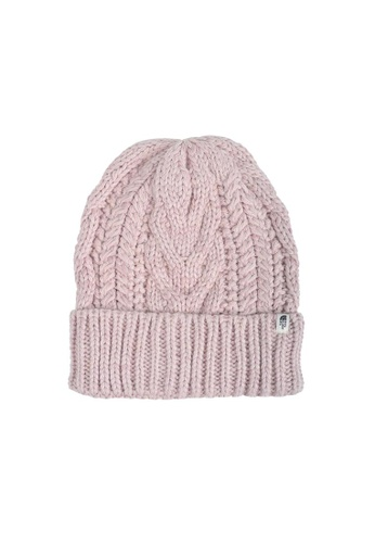 The North Face pink TNF CABLE MINNA BEANIE BURNISHED LILAC A5A41ACA2603A5GS_1
