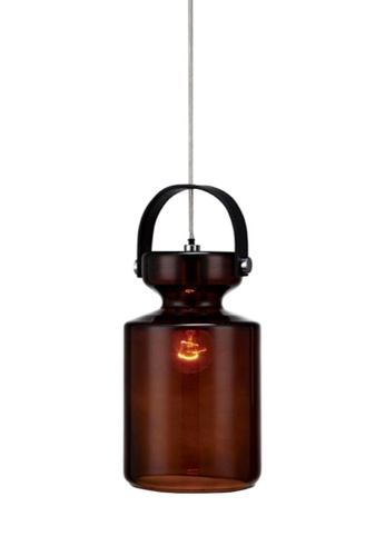 Stylodeco Pendant Light, Glass, Brown 0214FESB266C96GS_1