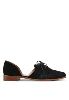 ZALORA black Cut-Out Loafers 8CAC3SH1B2629AGS_1