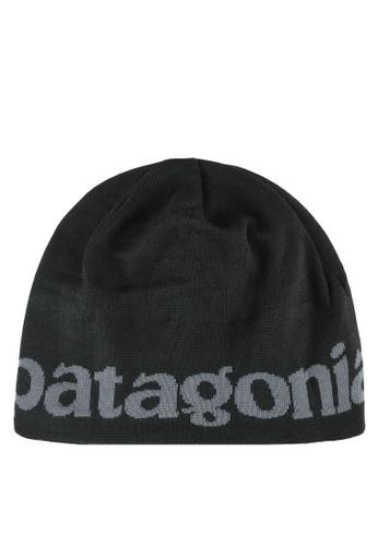 Patagonia black Printed Beanie PA549AC0RQF8MY_1