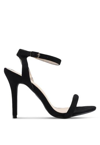 Glamorous 黑色 麂皮高跟鞋 C8C06SHA1BFB99GS_1