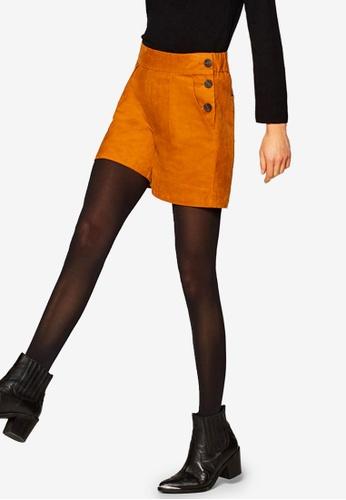 ESPRIT brown Woven Shorts DE4FEAA17B1455GS_1