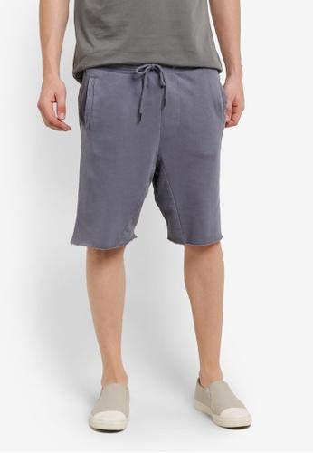 Cotton On 藍色 Customised Jogger Shorts CO372AA0RI19MY_1