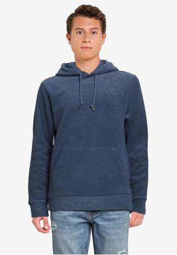 Old Navy blue Cozy-Knit Terry Pullover Hoodie 4288DAABA08D3EGS_1