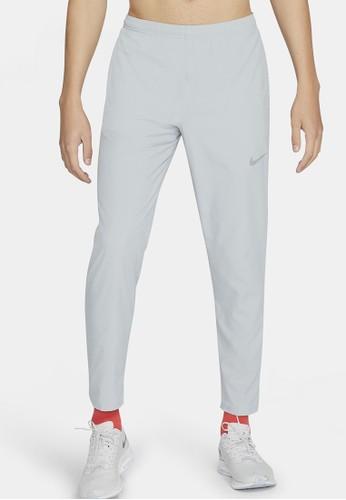 Nike grey Men's Woven Running Pants C6A89AA9B6CBE5GS_1