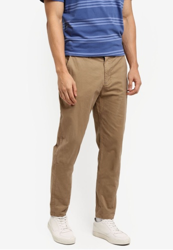 Cotton On brown Knox Chino Pants 22C0AAA8816051GS_1