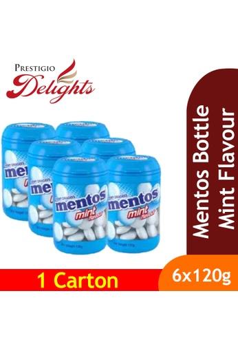 Prestigio Delights black Mentos Bottle Mint Flavours 120g x 6s E4062ES2683478GS_1