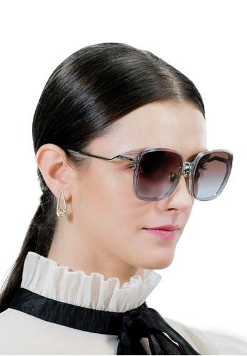 Jill Stuart brown JILL STUART Nara JS20043 Squared Acetate Sunglasses 0210EGLB82C081GS_1