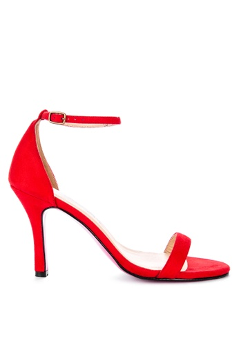 CARMELLETES red ANKLE STRAP SANDALS BF272SHE0080FCGS_1