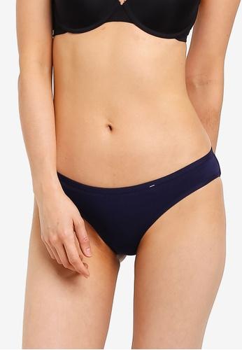 Cotton On Body blue Cotton Flat Elastic Cheeky Bikini Brief C2FEBUS54BB0E8GS_1